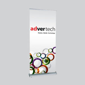 Deluxe-Roller-Banner | AdverTech Digital Advertising & Media Displays